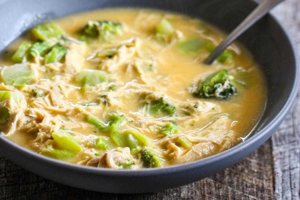 Рецепты супов для похудения брокколи с фото