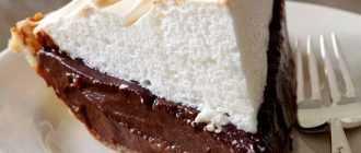 Пирог с творогом с какао: ингредиенты, рецепт приготовления