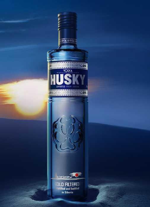 """Водка """"Хаски"""": производитель, описание напитка, виды"""