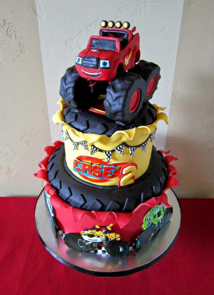 торт на день рождения мальчику 2 года идеи