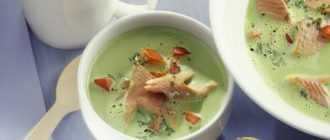 Сливочный суп с форелью: лучшие рецепты