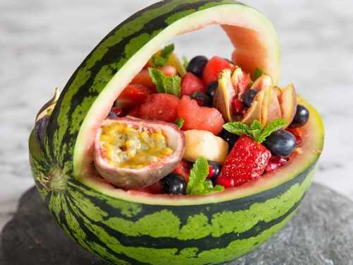 красиво украшенные фрукты фото