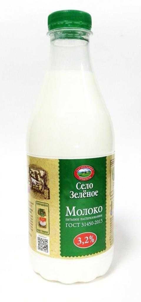 """Молоко """"Село Зеленое"""": отзывы и описание товара"""