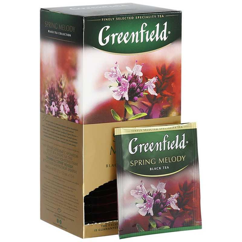 """Чай """"Гринфилд"""" с чабрецом: полезные свойства и отзывы"""