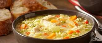 Суп с мясом, с рисом: сытный, вкусный и простой рецепт приготовления