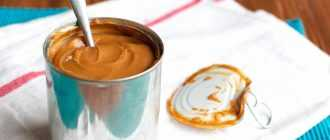 Крем из вареной сгущенки и сливок: рецепты приготовления