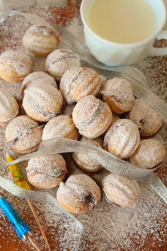 """Начинка для печенья """"орешки"""": пошаговый рецепт приготовления с фото"""