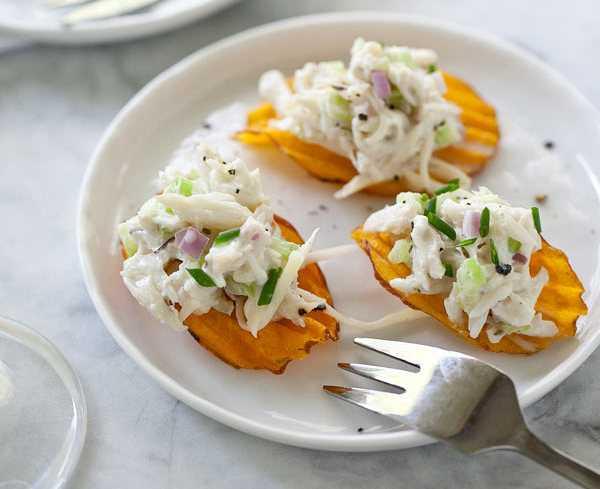 Салат с крабовыми чипсами – рецепт, особенности приготовления и отзывы