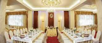 """Банкетный ресторан """"Маска"""" в Тюмени: адрес, описание, меню, отзывы"""