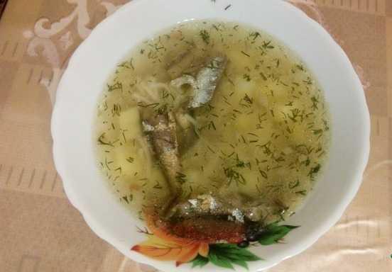 Суп со шпротами: рецепты с фото