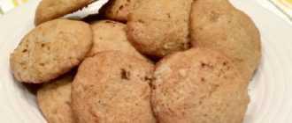 Печенье с бананом: рецепт приготовления и ингредиенты