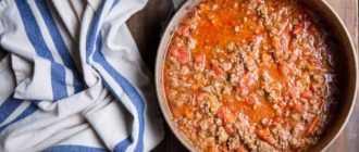 Томатный соус для спагетти из томатной пасты: рецепт приготовления, ингредиенты
