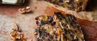 Кекс с сухофруктами: рецепт приготовления и ингредиенты