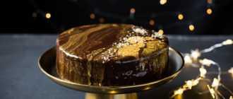 Как сделать зеркальную глазурь для торта: ингредиенты, рецепт с описанием, особенности приготовления