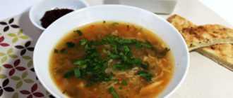 Суп харчо из говядины с рисом: рецепт, ингредиенты, время приготовления