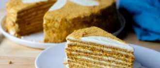 Заварной крем на молоке для медовика: рецепт приготовления, ингредиенты