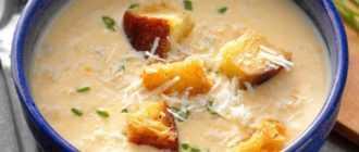 Сырный суп: ингредиенты, рецепт, советы по приготовлению