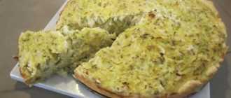 Пирог капустный заливной на майонезе: ингредиенты и рецепт приготовления