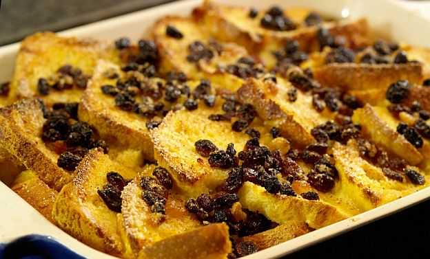 Пудинг с маслом и хлебом (Bread and Butter Pudding)