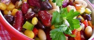 Салат с фасолью и консервированной кукурузой: самые вкусные рецепты
