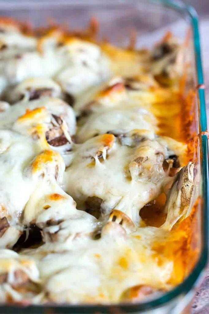 Курица с сыром и шампиньонами в духовке: рецепты приготовления