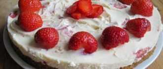 Торт без запекания: рецепты с фото