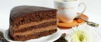 "Шоколадный торт ""Прага"": рецепт с фото"