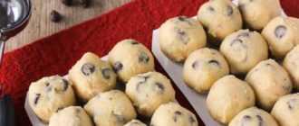 Домашнее печенье с вареньем: рецепт с фото