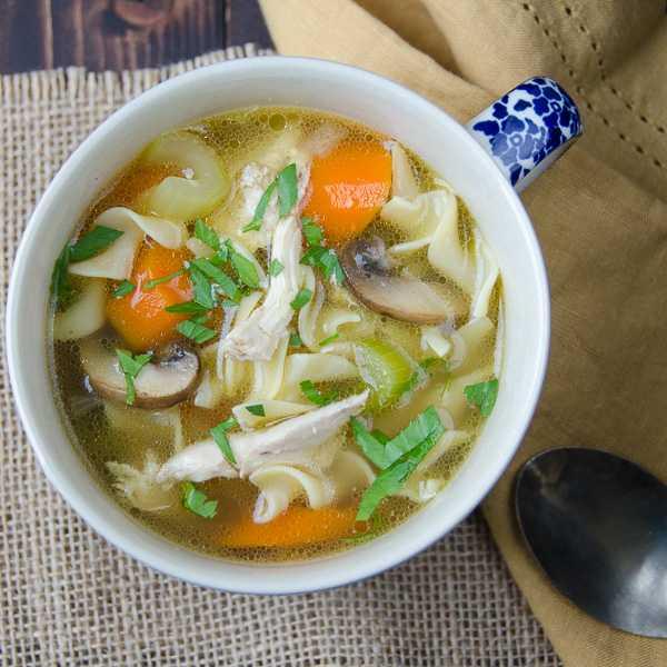 Лапша с курицей и грибами: рецепты приготовления