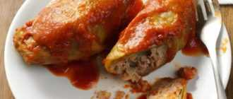 Приготовление голубцов с мясом и рисом: ингредиенты, пошаговый рецепт с фото