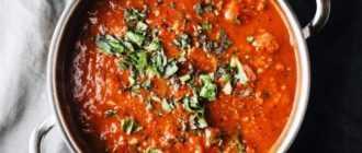 Тефтели с томатной пастой: ингредиенты, рецепты и секреты приготовления