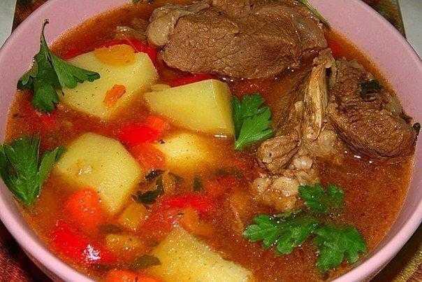 Суп шурпа из говядины: рецепт, ингредиенты, советы по приготовлению