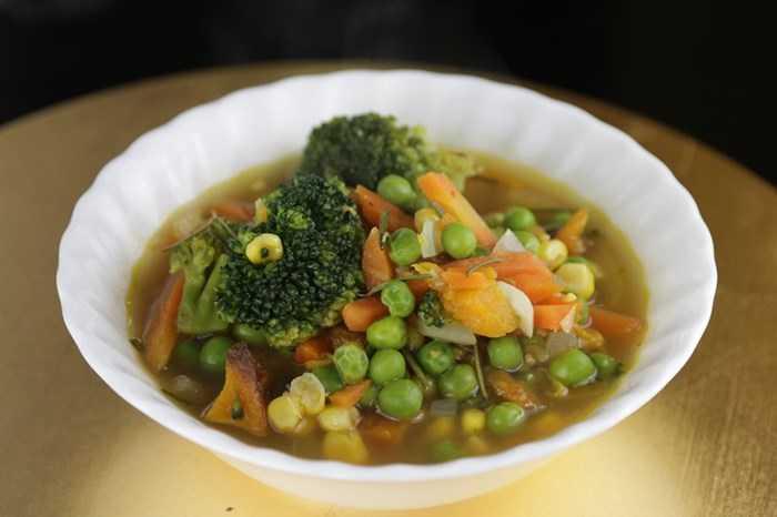 Суп с замороженными овощами: простые рецепты