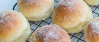 Плюшки с творогом: рецепт приготовления и ингредиенты