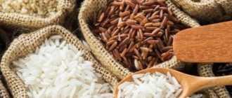 Нешлифованный бурый рис: калорийность, польза и вред, рецепты приготовления