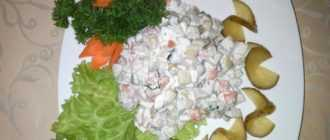 """Салат """"Столичный"""" с курицей и свежим огурцом и еще несколько интересных рецептов"""