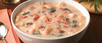 Суп с красной рыбой и сливками: подбор ингредиентов и рецепт приготовления