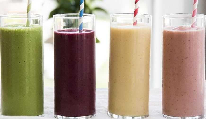 Смузи из фруктов: рецепты с фото