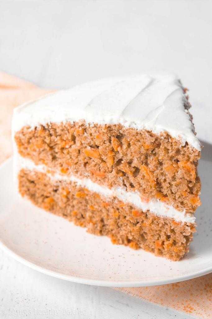 Морковный торт - калорийность не помеха диете. Рецепт
