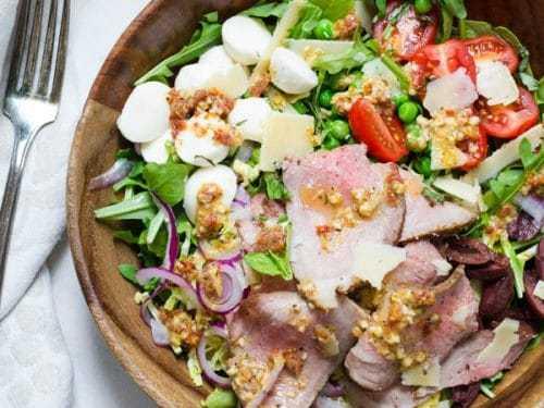 Салат с ростбифом: рецепты приготовления
