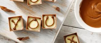Как сделать шоколадные буквы для украшения торта: советы кондитера