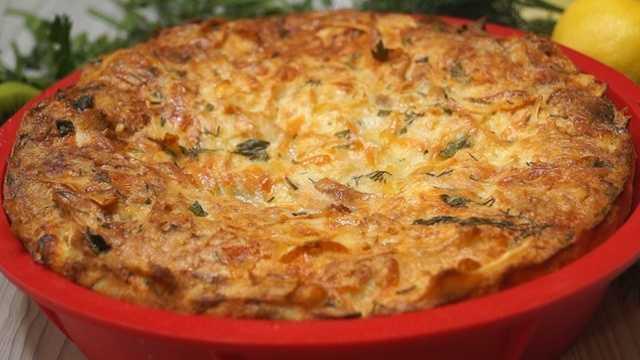 Пирог рваный с сыром: рецепт, особенности приготовления