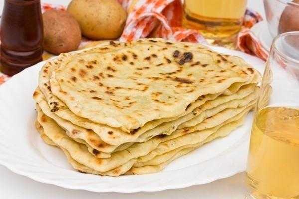 Балкарские хычины с картошкой и сыром: рецепт с фото